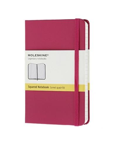 Moleskine Cuaderno Notas Hojas Cuadriculadas Magenta