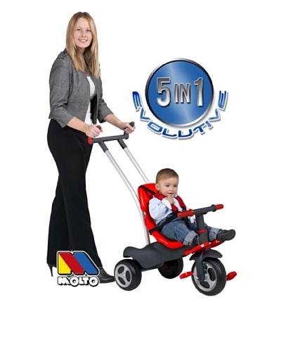 Moltó Triciclo Ajustable Con Cinturones