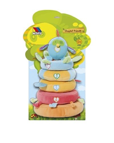 Moltó Pirámide En La Cual Cada Anillo Tiene Diferentes Texturas Colores Y Sonidos.