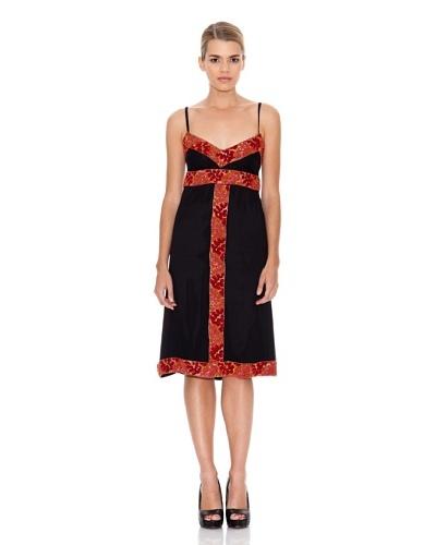 Monoplaza Vestido Pedrería