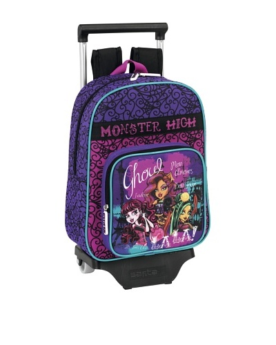 Monster High Mochila Con Ruedas26x34x11