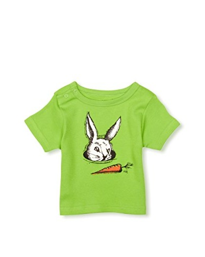 Monster's Baby! Rabbit in a Hole Printed Boy's T-Shirt