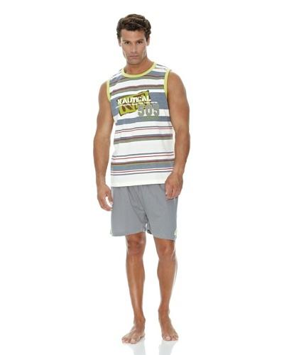 Monthalt Pijama Sport Estampado Bordado