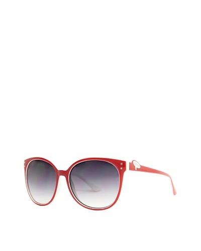 Moschino Gafas de Sol MO-68103S Rojo / Blanco
