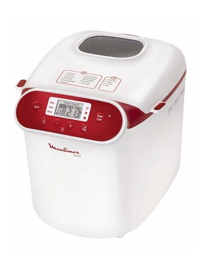 Moulinex Panificadora Uno Blanca/Roja