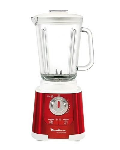 Moulinex Batidora de vaso Mastermix Red Rubi Jarra Cristal