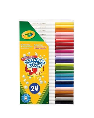 Crayola 7551 – Estuche De 24 Rotuladores Finos