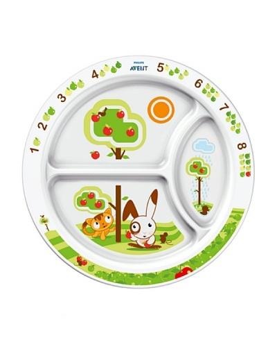 Philips AVENT Plato  con compartimentos para la comida (+ 12 meses) SCF702