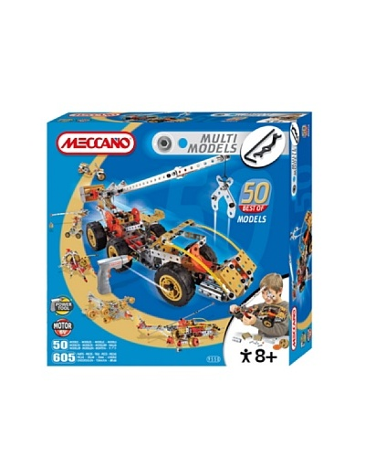 Meccano 839550 – Best Of 50 Model Set