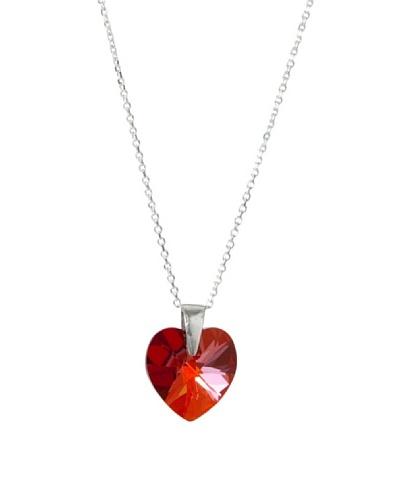 Musa Ventura Collar Corazón Rojo