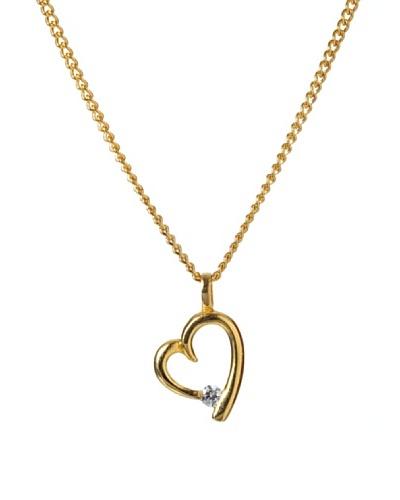Musa Ventura Collar Corazón Fundición Oro