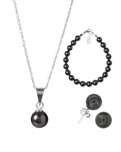 MUSAVENTURA Conjunto Perlas Negro