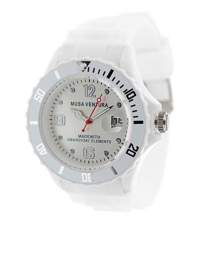 MUSAVENTURA Reloj Reloj Silicona Sw Blanco BLANCO