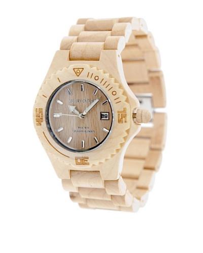 MUSAVENTURA Reloj Wood Watch Arce MADERA CLARA