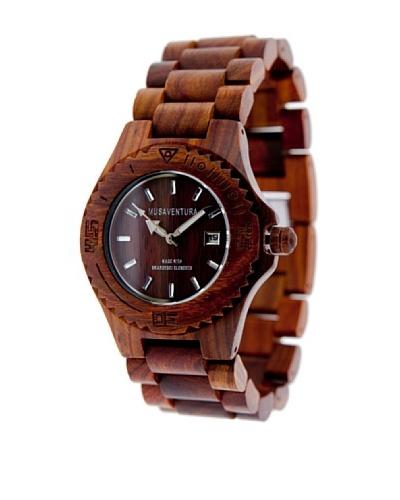 MUSAVENTURA Reloj Wood Watch  Palisandro MADERA OSCURA