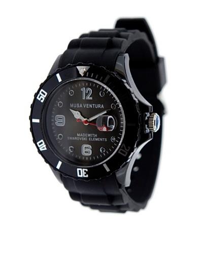 MUSAVENTURA Reloj Silicona Sw Negro