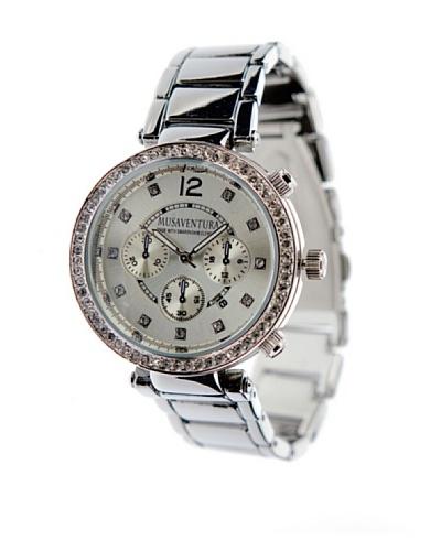 MUSAVENTURA Reloj Glanz Silver Watch PLATA