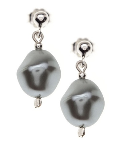 My Silver Pendientes Rock Luxe
