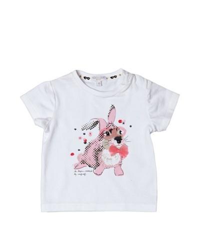 Naf Naf Enfant Camiseta Mademois Myster Blanco
