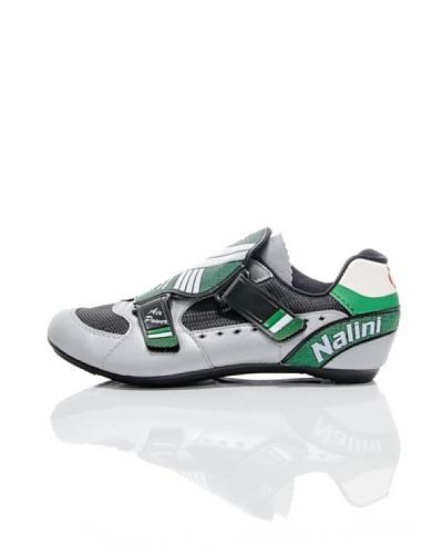 Nalini Zapatillas para Ciclismo Verde/Plata