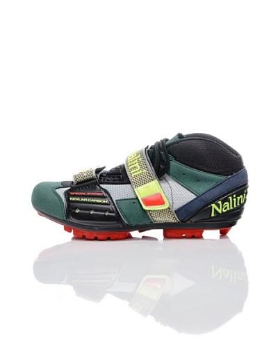 Nalini Zapatillas para Ciclismo Mtb300 Verde/Plata/Negro