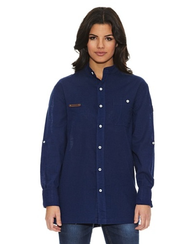National Geographic Camisa Sidley Azul