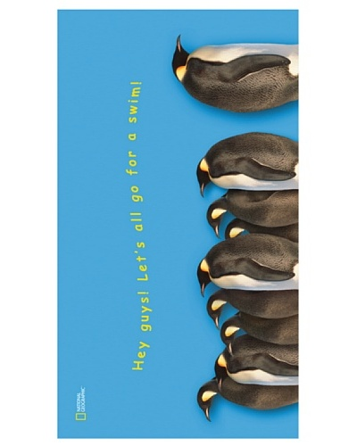 National Geographic Toalla Pingüinos