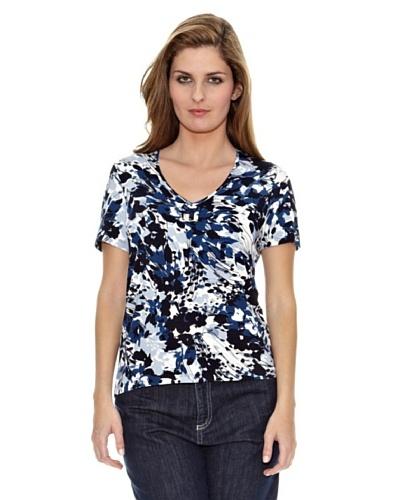 Naulover Camiseta Flores