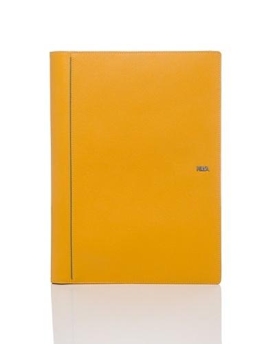 Nava Design Cuaderno con Tarjetero Amarillo