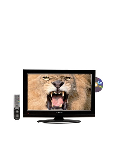 Nevir Televisión Led 22″ HDD con DVD NVR-7502-22HDD-N Negro