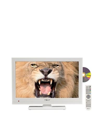 Nevir Televisión Led 22″ HDD con DVD NVR-7502-22HDD-B Blanco
