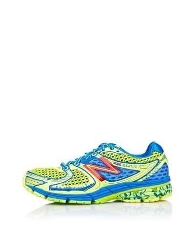 New Balance Zapatillas Running 860 Azul / Amarillo