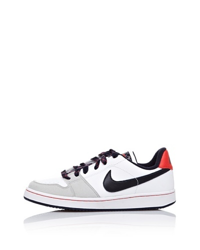 Nike Zapatillas Basket Backboard Si Jr Blanco / Gris / Azul