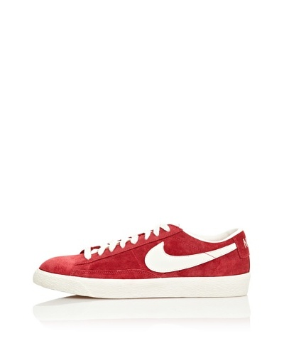 Nike Zapatillas Blazer Low Prm Vntg Suede Rojo / Blanco