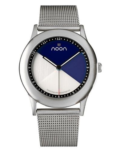 NOON Copenhagen Reloj unisex acero inoxidable Azul / Blanco