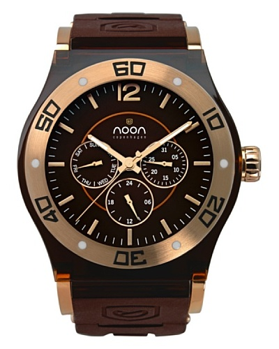 Noon Copenhagen Reloj 69-003s6 Marrón / Oro