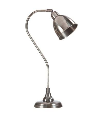 Lámpara de Mesa Eduard Plata Envejecida