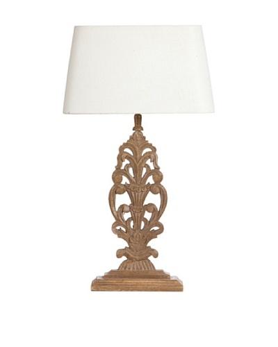 Lámpara de Mesa Lotus Blanco