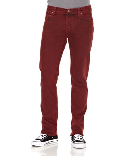 Nudie Jeans Pantalón Finn Red
