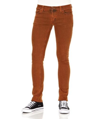 Nudie Jeans Pantalón John Orange Naranja