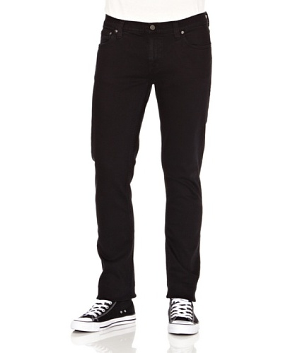 Nudie Jeans Pantalón Tube Kelly Negro