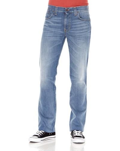 Nudie Jeans Pantalón Slim Jim Azul