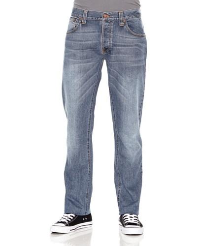 Nudie Jeans Pantalón Hank Rey Azul medio
