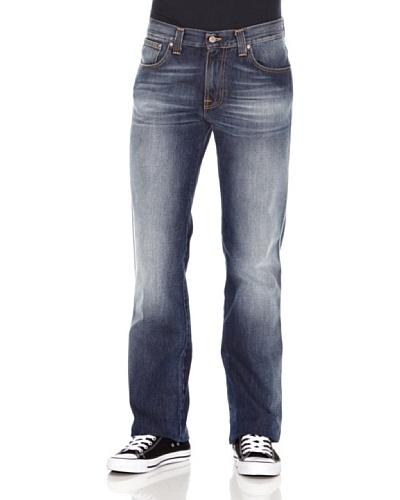Nudie Jeans Pantalón Slim Jim Azul medio