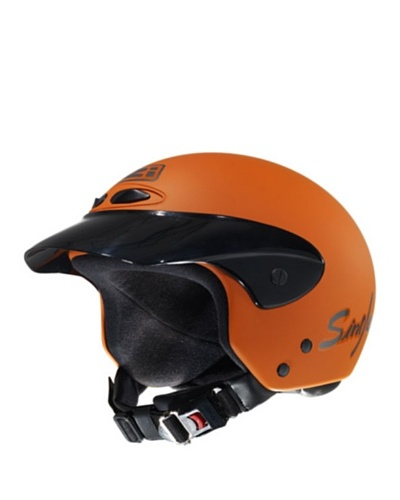 NZI Casco Single Junior Naranja