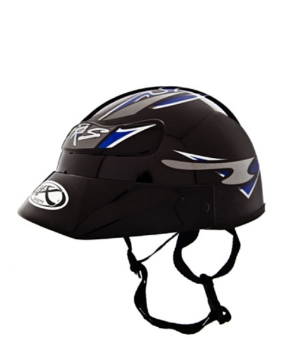 NZI Casco Ciclomotor Crs Negro