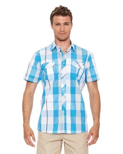 O'Neill Camisa Manga Corta Lm Single Fin S Azul