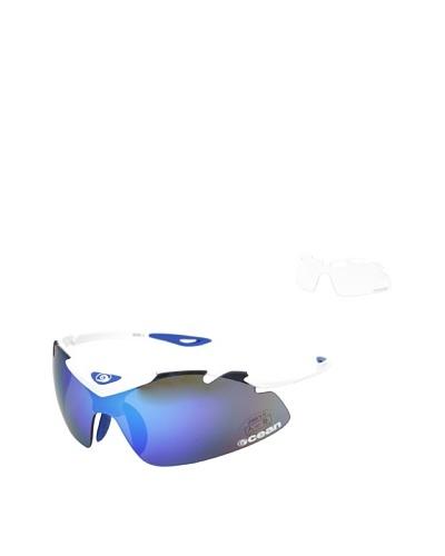 Ocean Gafas Bici Tourmalet Blanco / Azul Única