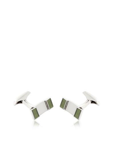 Olimpo Gemelos Rectangulares de Paladio Verde