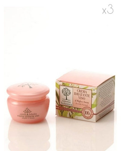 Omnia Botanica Set 3 Crema Facial Hidratante de Mijo y Avena